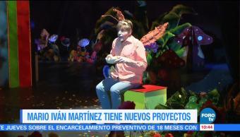 noticias, forotv, Mario Iván Martínez, nuevos proyectos, contar cuentos, Teatro