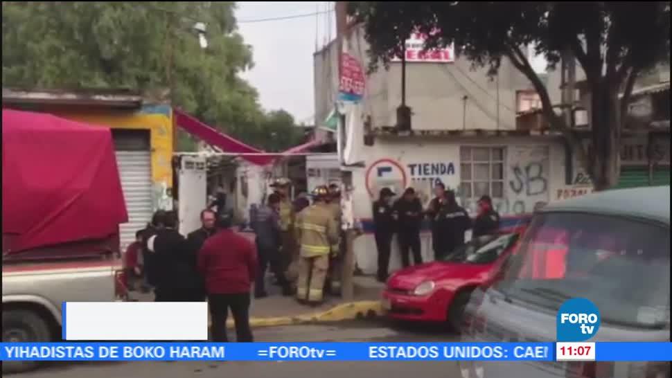 noticias, forotv, Un muerto, tres intoxicados, fuga de gas, CDMX