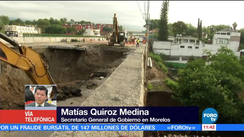 noticias, forotv, Paso Express, Cuernavaca, obra federal, secretario de Gobierno de Morelos