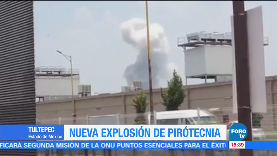 Explosión, pirotecnia, Tultepec, Estado de México, jueves
