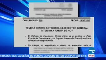 Inician, peritajes, Paso Express, presentarán, denuncia, PGR