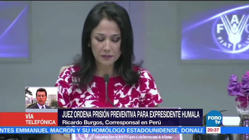 En FOROtv, Ricardo Burgos, Dictan prisión preventiva, Ollanta Humala