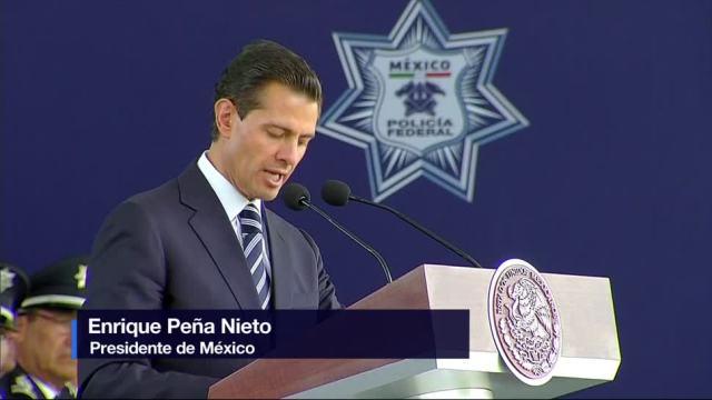 Enrique Peña Nieto EPN, conmemora, Día del Policía Federal
