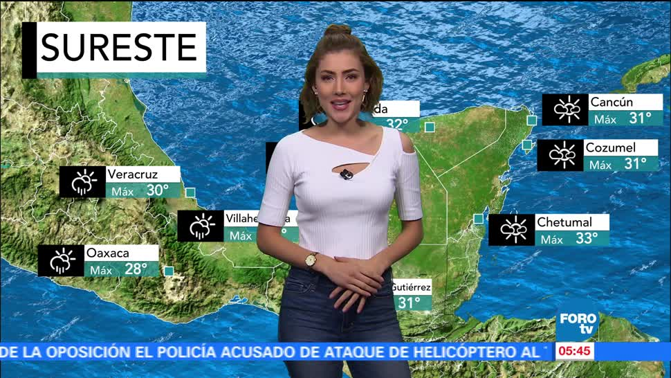noticias, forotv, El clima, Daniela Álvarez, clima, lluvias