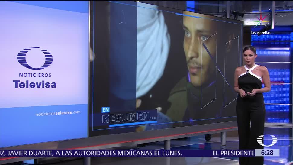 noticias, televisa, Las Noticias, con Danielle Dithurbide, Programa, 14 de julio de 2017