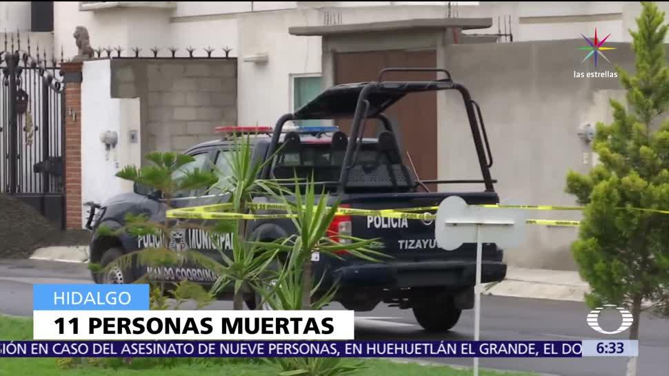 noticias, televisa, Asesinan, 11 personas, fiesta infantil, Tizayuca