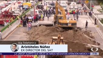 noticias, televisa, Constructoras, reducen calidad de materiales, costos no proyectados, Aristóteles Núñez