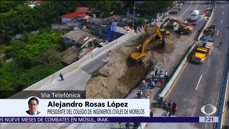noticias, televisa, Socavón, Paso Express, presidente, Colegio de Ingenieros