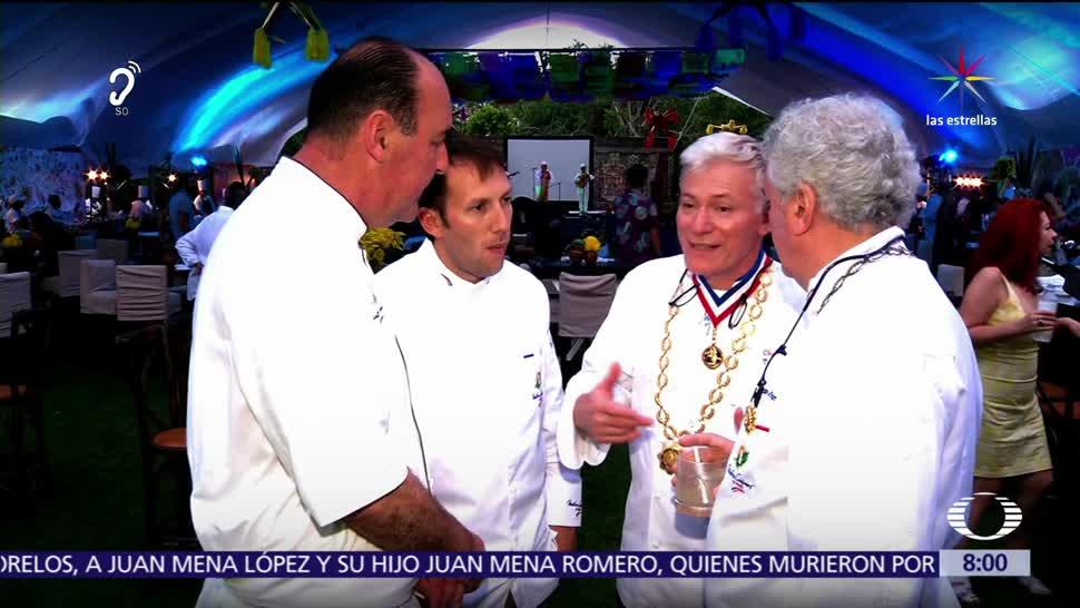 noticias, televisa, Se reúnen, 100, más prestigiados, chefs en México