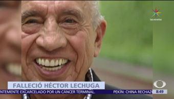 noticias, televisa, Muere, comediante, mexicano, Héctor Lechuga