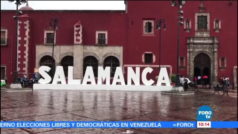 noticias, forotv, México sobre Ruedas, Salamanca, México, Rogelio Magaña