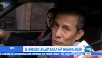 noticias, forotv, Expresidente, Ollanta Humala, esposa, ingresarán a prisión