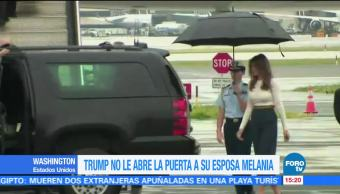 poco caballeroso, Donald Trump, Melania, esposa
