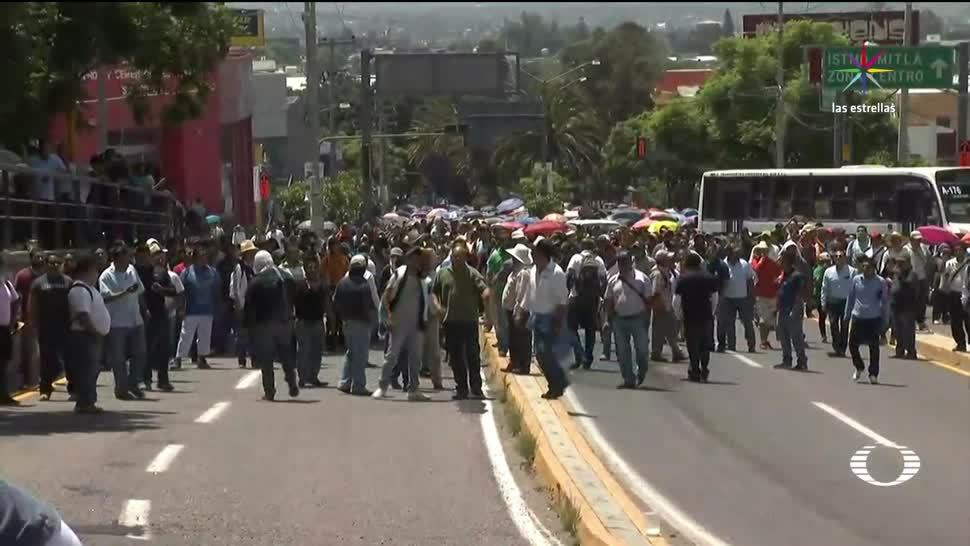 Tensión, Oaxaca, previo, inicio, Guelaguetza, marcha maestros