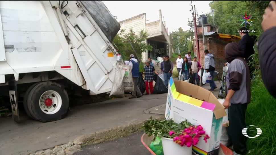 Contraste, recolección, basura, CDMX, separación, residuos