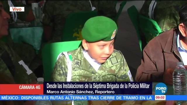 Policía Militar, Niño cumple sueño, José Manuel González Alonso, Fuerzas Armadas