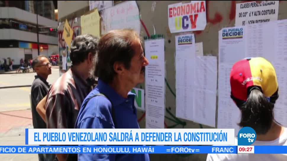 Convocan, consulta, Asamblea Constituyente, Venezuela