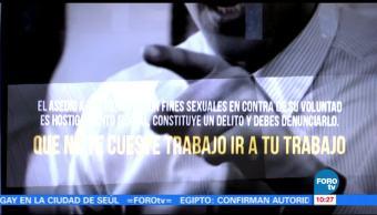 Realizan campaña, violencia laboral, mujeres, Chihuahua
