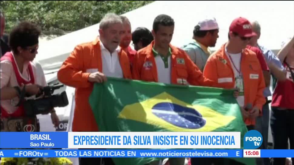 Luiz Inácio Lula Da Silva, expresidente de Brasil,justifiquen condena, pruebas