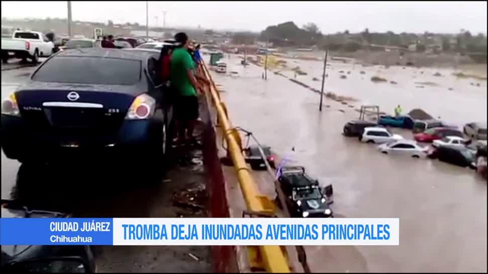 Tromba, provoca, encharcamientos, Ciudad Juárez, inundaciones, chihuahua