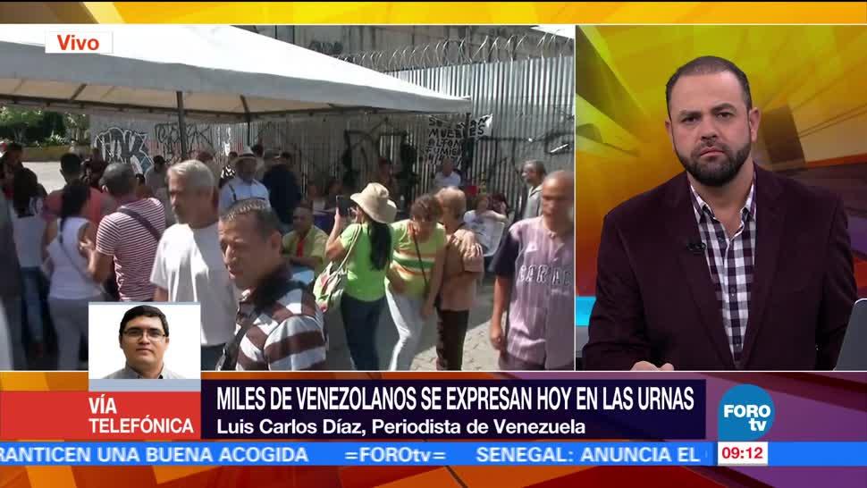 periodista venezolano, Luis Carlos Díaz, miles de personas, gobierno de Maduro