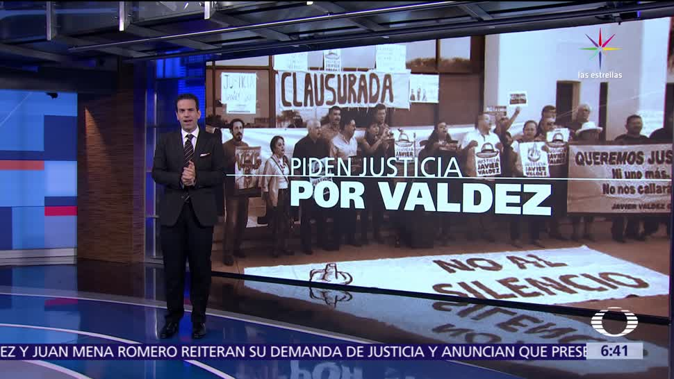 Familiares, amigos, colegas, organizaciones, periodista Javier Valdez, homicidio del periodista