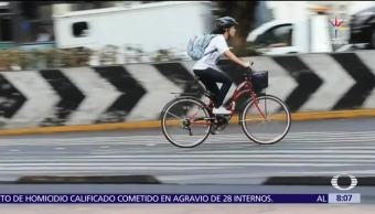 ciclista urbana Areli, alcaldesa de la bicicleta, CDMX, gobierno