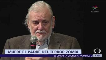 cineasta neoyorquino, George A. Romero, género zombie, cáncer de pulmón
