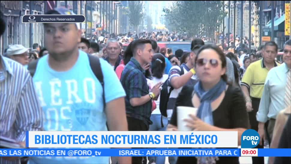 Ximena Cervantes, reportaje, proyecto, bibliotecas nocturnas, México