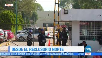 Autoridades, audiencia, exgobernador Javier Duarte, Reclusorio Norte