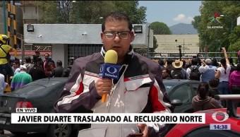 ex gobernador, Javier Duarte, Reclusorio Norte