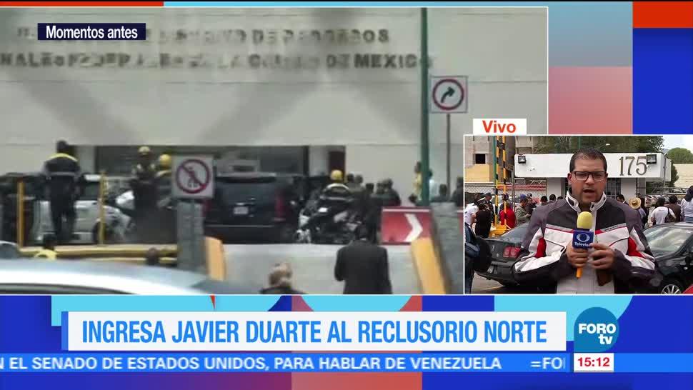 ex gobernador, Veracruz, Javier Duarte, audiencia inicial