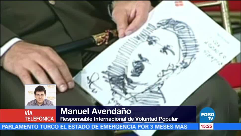 Ejercicio, desobediencia civil, Venezuela, Manuel Avendaño
