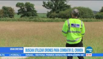 noticias, forotv, Gran Bretaña, combatir, crimen, uso de drones