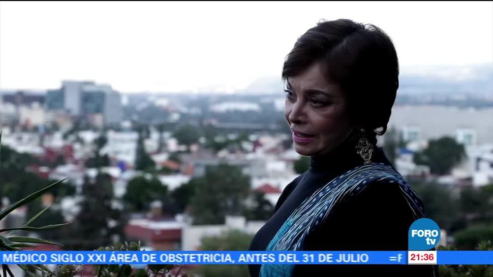 noticias, forotv, Reconocen, 50 años, trayectoria, Martha Chapa