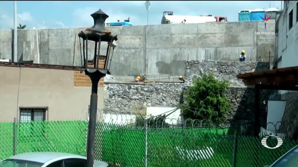 noticias, televisa, Desalojan, vecinos, Paso Express, Cuernavaca