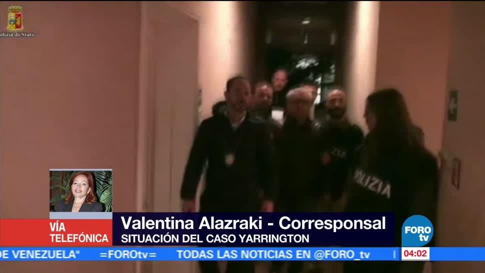 Termina audiencia, exgobernador de Tamaulipas, Tomás Yarrington, Corte de Florencia, Italia