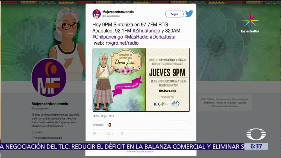 radionovela, promoción del nuevo sistema, nuevo sistema de justicia penal, zonas rurales, México, violencia de género