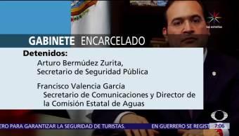 funcionarios, gabinete de Javier Duarte, Veracruz, penal de Pacho Viejo