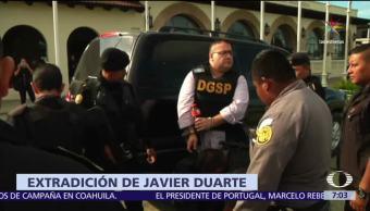 extradición de Javier Duarte, Guatemala, México, Reclusorio Norte, CDMX