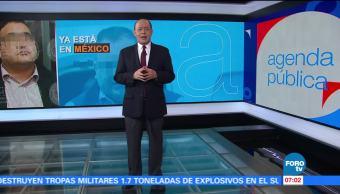 Prisión preventiva, Javier Duarte, Reclusorio Norte, audiencia