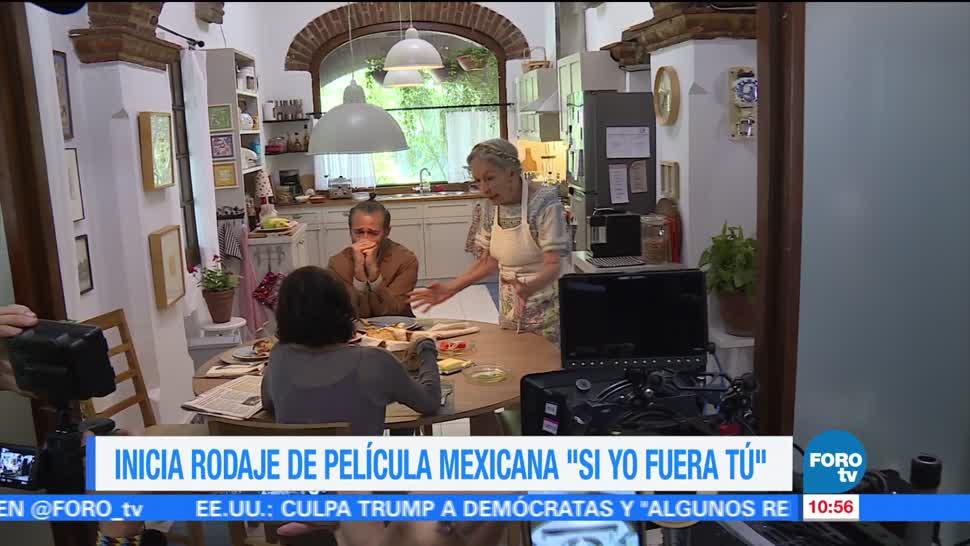 claquetazo, filme 'Si yo fuera tú', elenco, Sophie Alexander, Anabel Ferreira