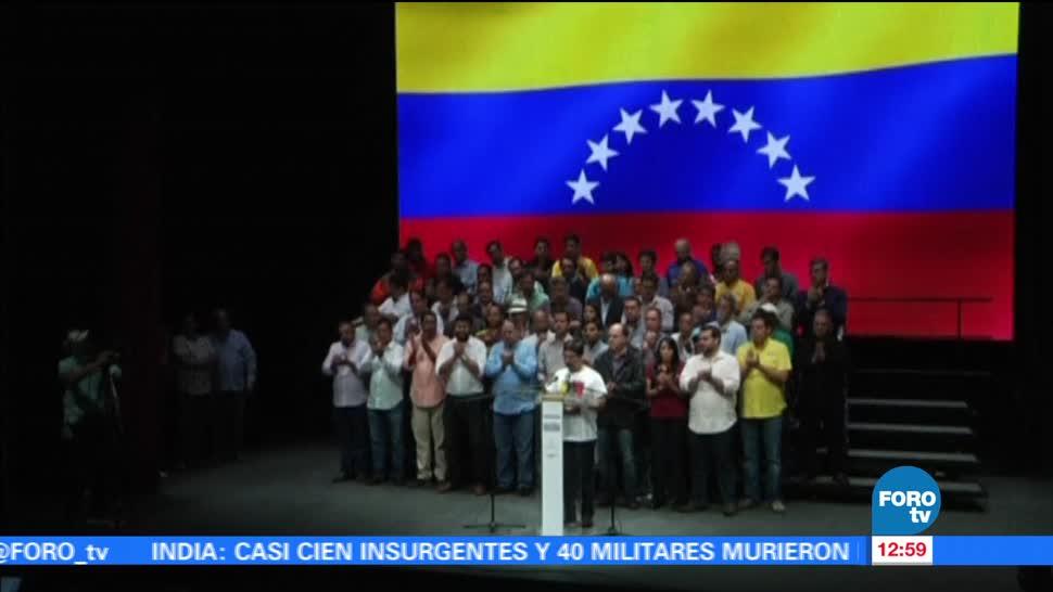 oposición venezolana, paro cívico nacional, 24 horas, próximo jueves