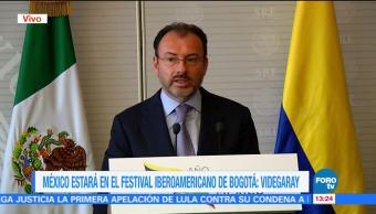 canciller mexicano, Luis Videgaray, instalación, año dual Colombia-México