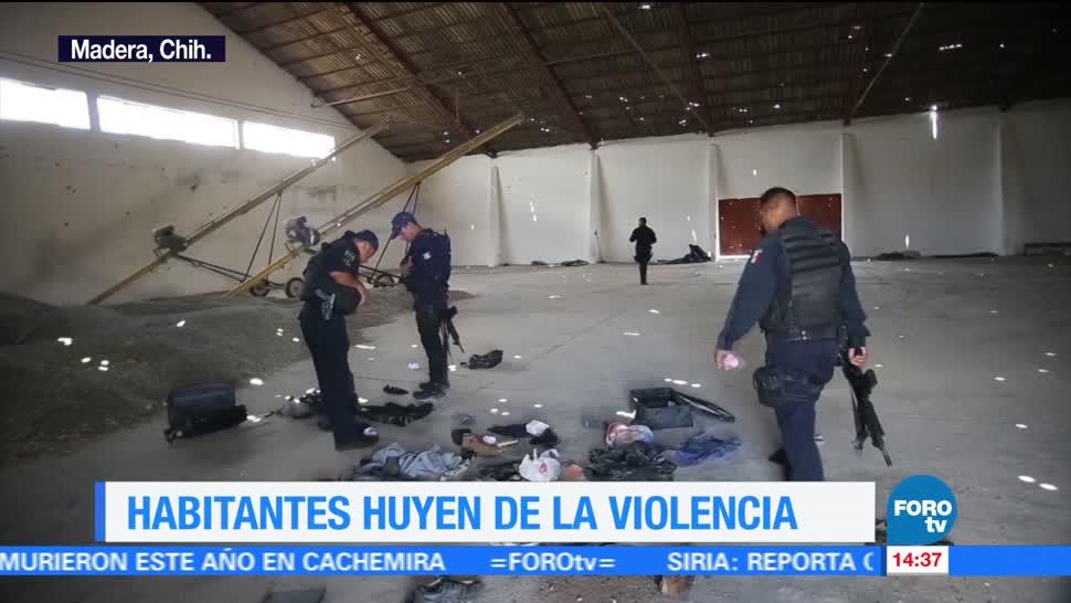 Comunidades, fantasma, Chihuahua, violencia