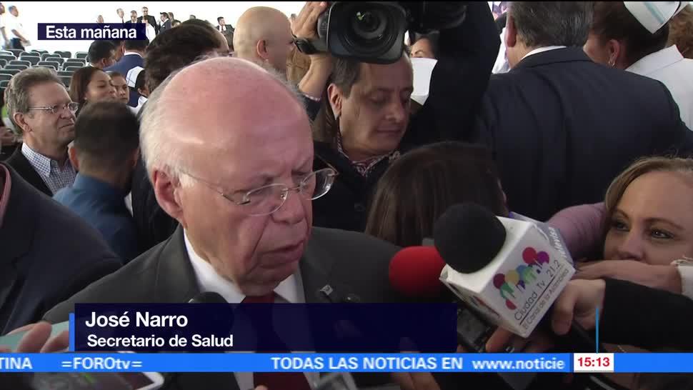 Secretario De Salud, Jose Narro, SSa, 23 Denuncia