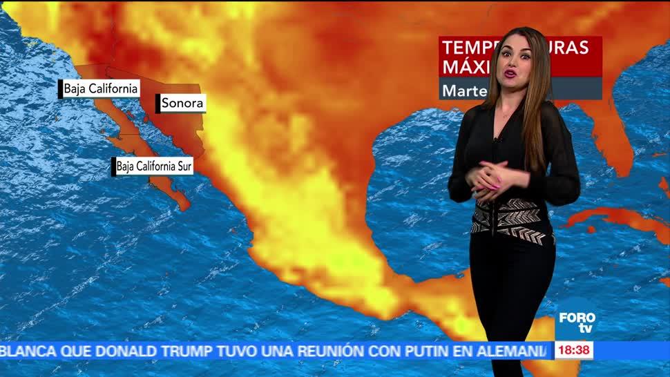 El Clima, Mayte Carranco, Temperaturas, Altas