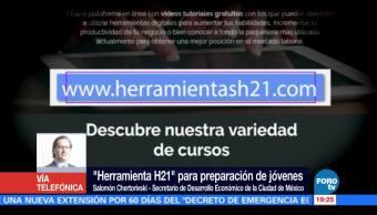 Herramienta H21, Salomon Chertorivski, Gobierno De La Cdmx, Cursos Gratuitos