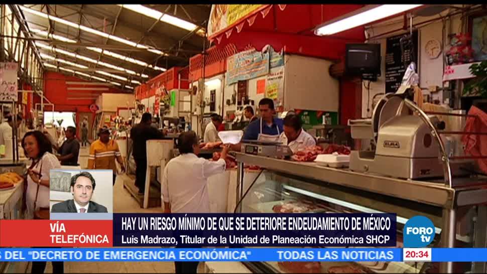 noticias, forotv, Perspectiva, S&P, México tiene solidez económica, SHCP