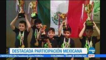 noticias, forotv, Niños mexicanos, ganan, concurso, cálculo mental